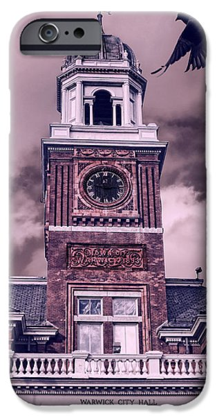 Warwick City Hall iPhone Case by Lourry Legarde