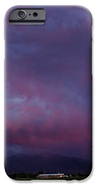 Wasatch Mountain Sunset iPhone Case by La Rae  Roberts