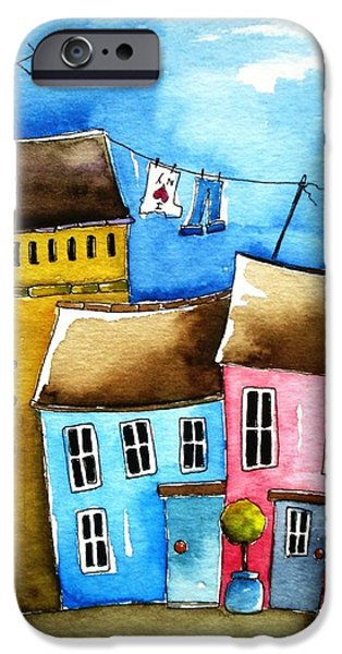 Aceo iPhone Cases - Wash day iPhone Case by Lucia Stewart