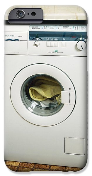 Washing Machine iPhone Case by Andrew Lambert Photography