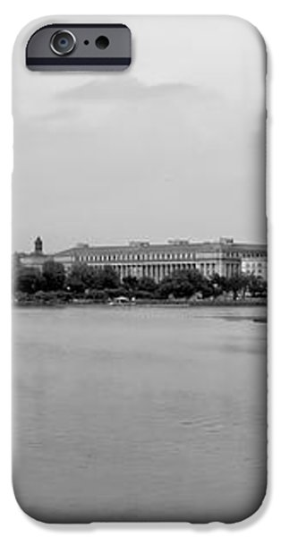 Washington Landmarks iPhone Case by Heather Applegate