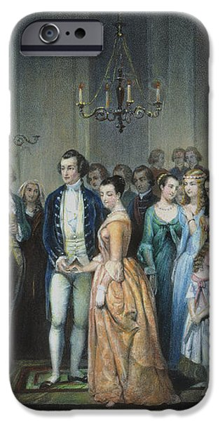 WASHINGTONS MARRIAGE iPhone Case by Granger