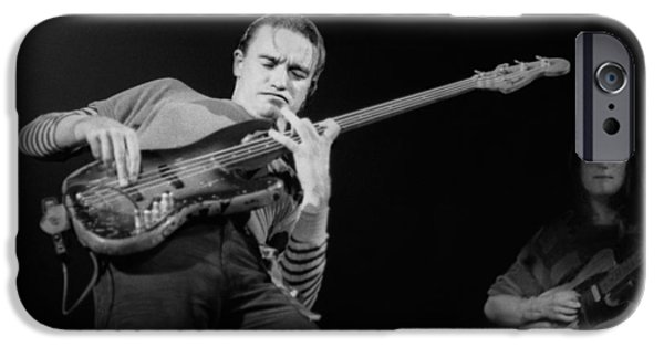 Pastorius iPhone Cases - Watch the step iPhone Case by Philippe Taka