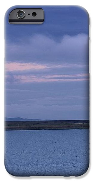 Water And Dark Clouds iPhone Case by John Short