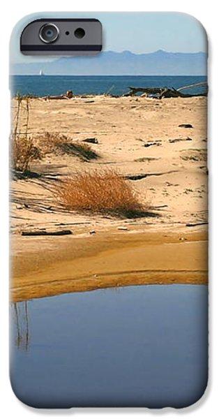 Water By The Ocean iPhone Case by Henrik Lehnerer