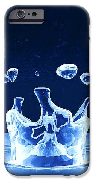 Water Drop Impact iPhone Case by Pasieka