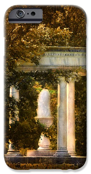 Water Fountain iPhone Case by Jai Johnson