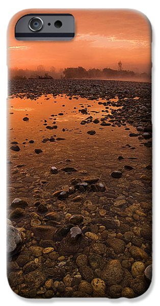 Water on Mars iPhone Case by Davorin Mance