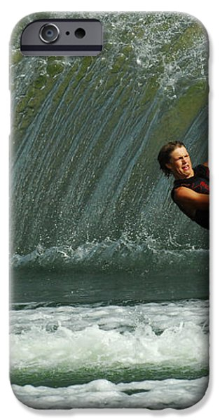 Water Skiing Magic of Water 1 iPhone Case by Bob Christopher