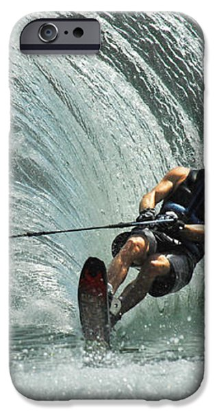 Water Skiing Magic of Water 10 iPhone Case by Bob Christopher