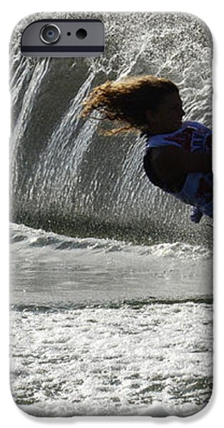 Water Skiing Magic of Water 12 iPhone Case by Bob Christopher