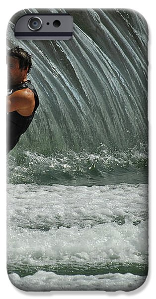 Water Skiing Magic of Water 3 iPhone Case by Bob Christopher
