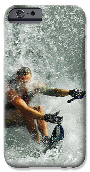 Water Skiing Magic of Water 34 iPhone Case by Bob Christopher
