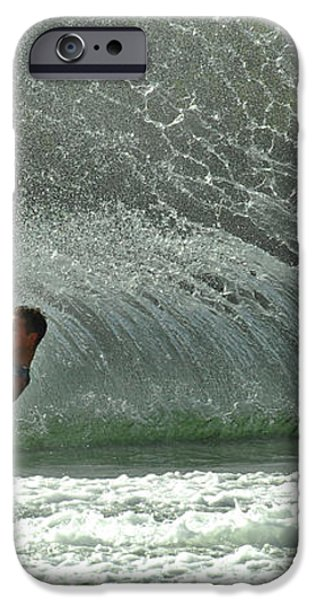 Water Skiing Magic of Water 7 iPhone Case by Bob Christopher