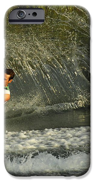 Water Skiing Magic of Water 8 iPhone Case by Bob Christopher