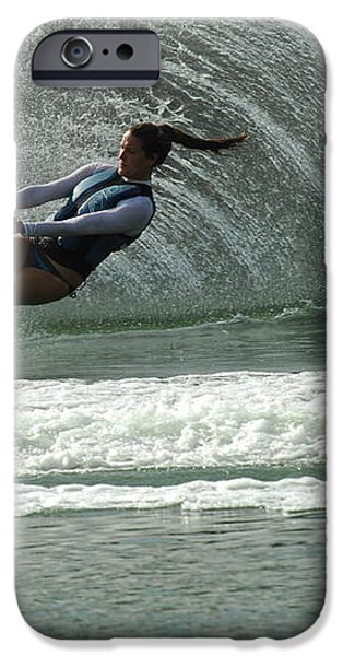 Water Skiing Magic of Water 9 iPhone Case by Bob Christopher