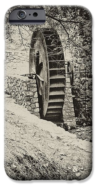 Water Wheel iPhone Case by Bill Cannon