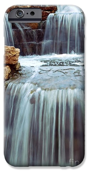 Element Photographs iPhone Cases - Waterfall iPhone Case by Elena Elisseeva