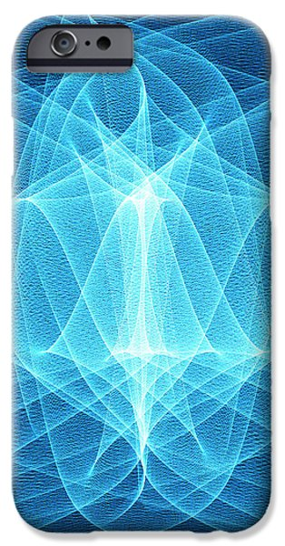 Wave Patterns iPhone Case by Pasieka