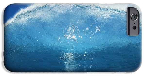 Turbulent Skies iPhone Cases - Wave Tube iPhone Case by Ali ONeal - Printscapes