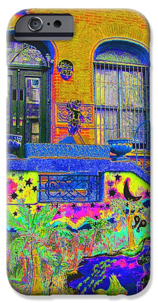 Harlem iPhone Cases - Wax Museum Harlem NY iPhone Case by Steven Huszar