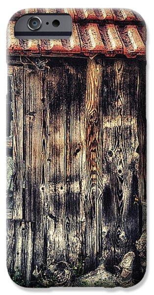 Wayside iPhone Case by Jutta Maria Pusl