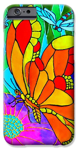 Vibrant Glass iPhone Cases - We Fly iPhone Case by Farah Faizal