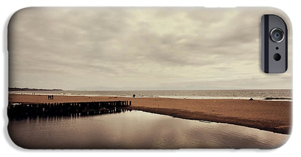 Beach Landscape iPhone Cases - We Should Never Be Apart iPhone Case by Laurie Search