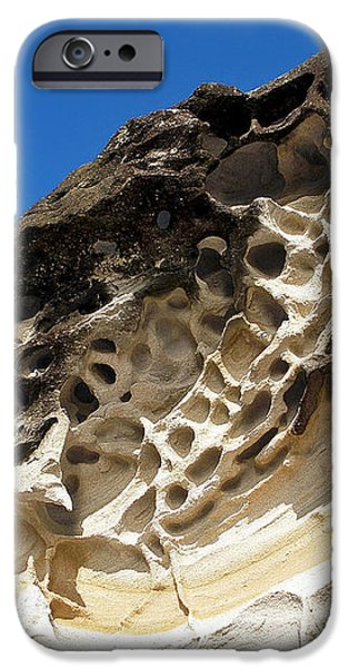 Weathered Sandstone iPhone Case by Kaye Menner