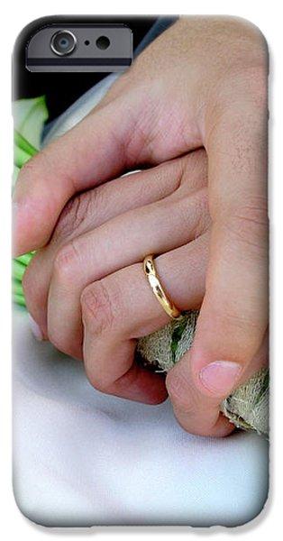 Wedding Rings iPhone Case by Carlos Caetano