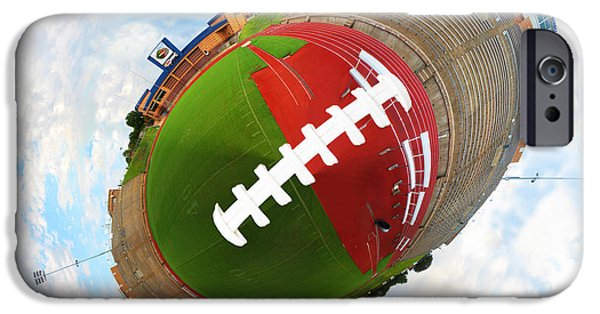 Ems iPhone Cases - Wee Football iPhone Case by Nikki Marie Smith