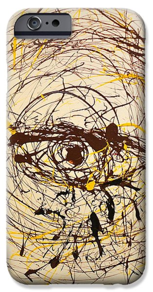 Torn iPhone Cases - Weeping iPhone Case by C Alexia