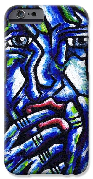 Weeping Child iPhone Case by Kamil Swiatek