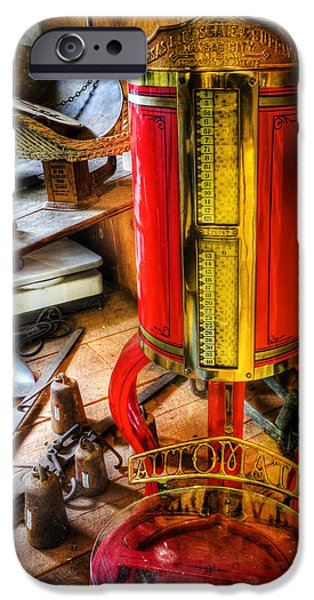 Buy Goods iPhone Cases - Weigh Your Goods - General Store - vintage - nostalgia iPhone Case by Lee Dos Santos