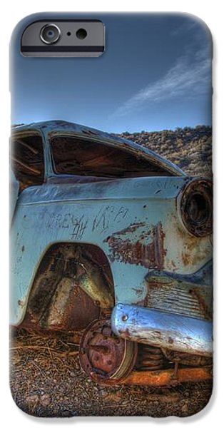 Welcome To Death Valley iPhone Case by Bob Christopher
