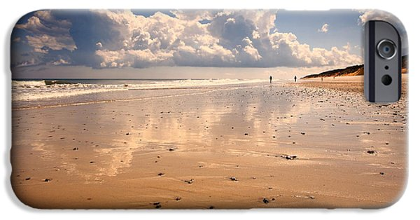 Landscape Poster Photographs iPhone Cases - Wellfleet iPhone Case by Dapixara Art