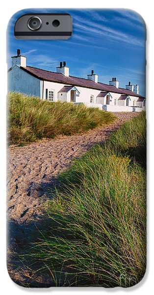 Welsh Cottages iPhone Case by Adrian Evans
