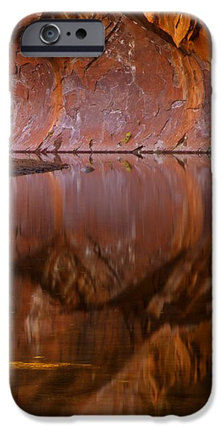 West Fork Illusion iPhone Case by Mike  Dawson