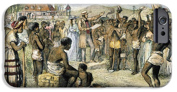 1833 Photographs iPhone Cases - West Indies: Slavery, 1833 iPhone Case by Granger