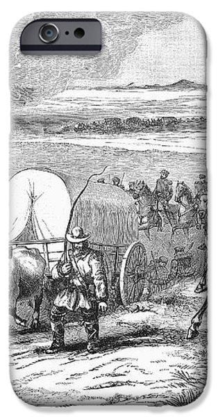 WESTWARD EXPANSION, 1858 iPhone Case by Granger