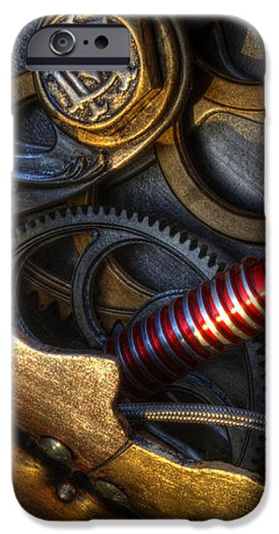 What Gear Am I In You Might Ask iPhone Case by Bob Christopher