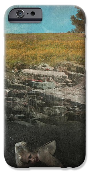What Lies Below iPhone Case by Laurie Search