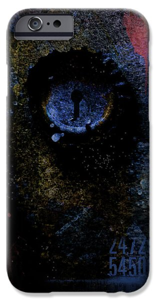 Abstract Digital Photographs iPhone Cases - What We See Is Only What We Are iPhone Case by Ron Jones