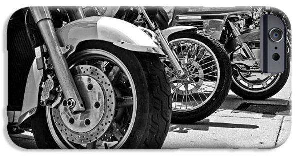 Asphalt iPhone Cases - Wheels iPhone Case by Tom Gari Gallery-Three-Photography