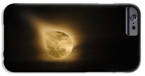Best Sellers -  - Multimedia iPhone Cases - When The Moon Touched Earth iPhone Case by Agrofilms Photography