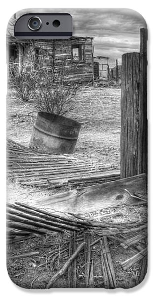 Where Does the Story End Monochrome iPhone Case by Bob Christopher
