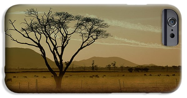 Rural Landscapes iPhone Cases - Wherever I May Roam iPhone Case by Holly Kempe