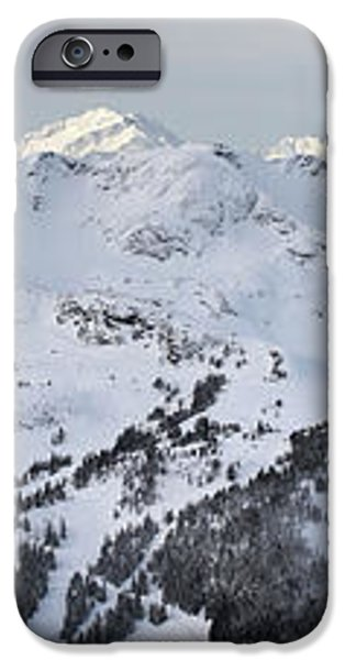Whistler mountain panorama iPhone Case by Pierre Leclerc Photography