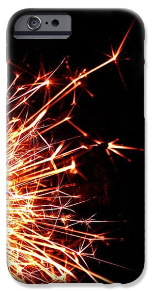 White Center iPhone Case by Susan Herber