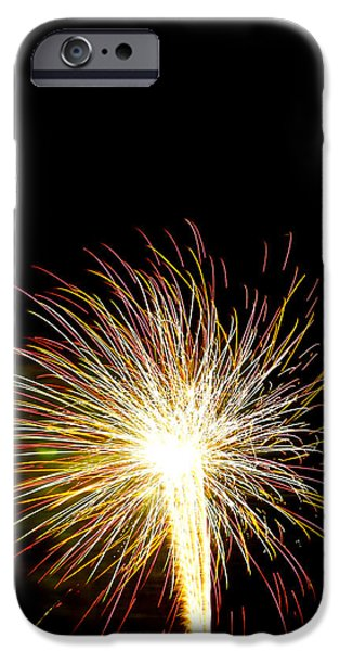 July 4th Digital Art iPhone Cases - White Hot iPhone Case by Phill  Doherty